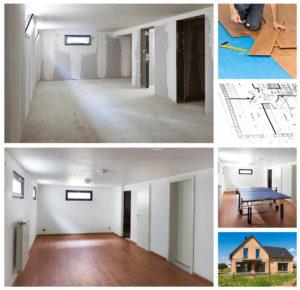 basement addition plan