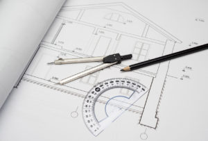 family room addition plan