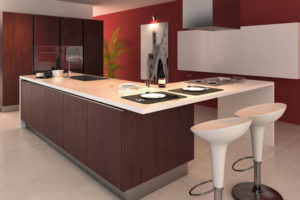 kitchen addition island L shape