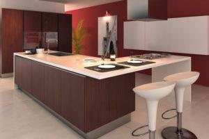 kitchen addition island L shape