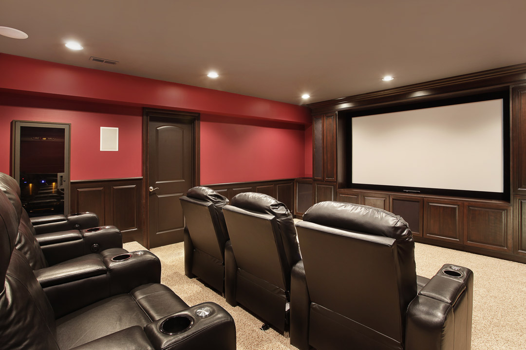 Toronto home additions basement additions renovation for Basement theater room
